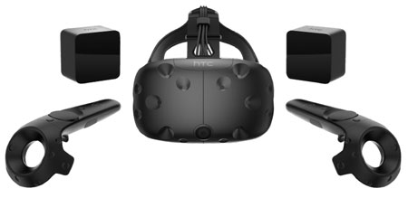 HTC Vive Virtual Reality Brille
