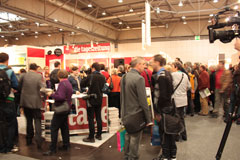Leipziger Buchmesse 2015 taz Stand Lesung