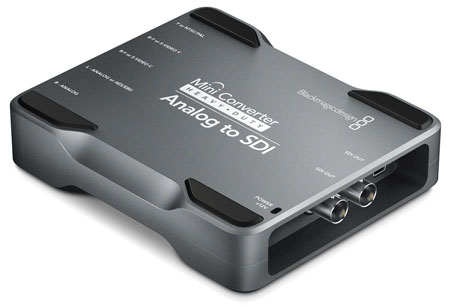 Blackmagic Minikonverter Heavy Duty Analog zu SDI